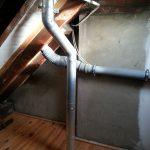 Aluminiumabgasleitung