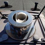 UV Schaden Abgasleitung