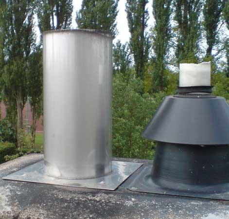Schornsteinerhöhungen und Brennwertfeuerstätten