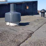 Abgasleitung über Dach