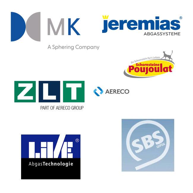 Hersteller von Abgasanlagen und Brandschutzprodukten