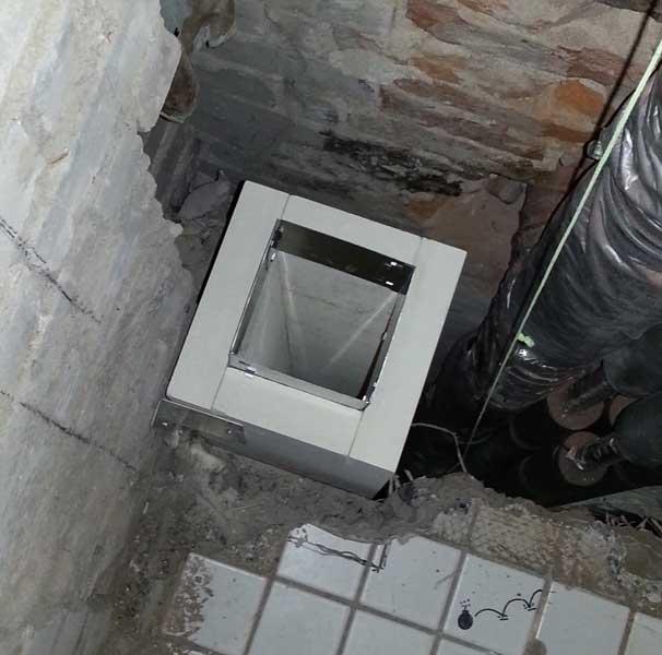 Brandschutz für Abgasleitungen